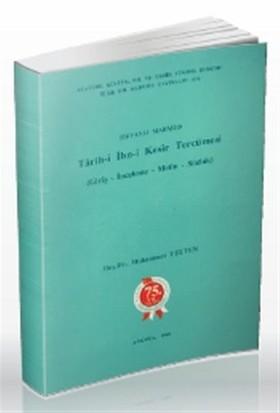 Tarih-i İbn-i Kesir Tercümesi
