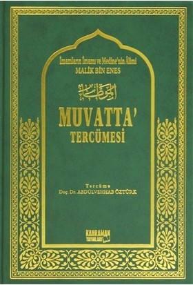 Muvatta Tercümesi ( 2 Cilt Takım)