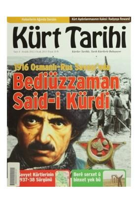 Kürt Tarihi Dergisi Sayı: 4