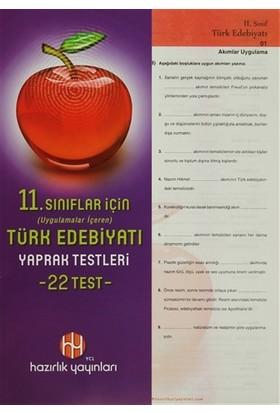 11. Sınıflar İçin Türk Edebiyatı Yaprak Testleri