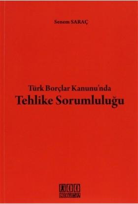 Türk Borçlar Kanunu'nda Tehlike Sorumluğu