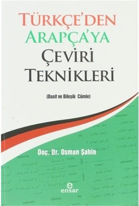 Türkçe'den Arapça'ya Çeviri Teknikleri