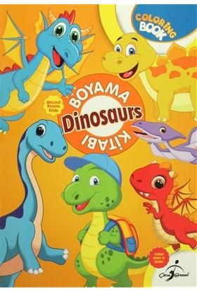 Boyama Kitabı - 4 Dinosaurs