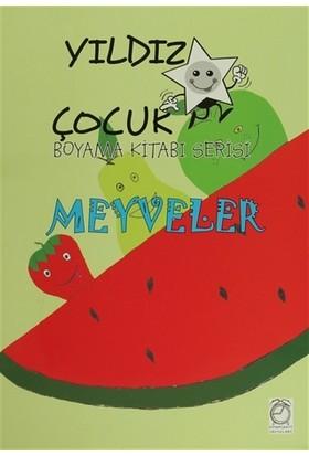 Yıldız Çocuk Boyama Kitabı Serisi: Meyveler
