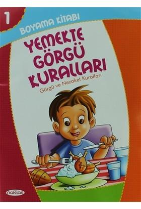 Boyama Kitabı 1 - Yemekte Görgü Kuralları