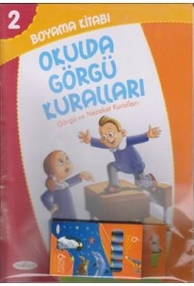 Boyama Kitabı 2 - Okulda Görgü Kuralları