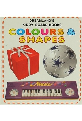 Colours Shapes Kiddy Board-Books
