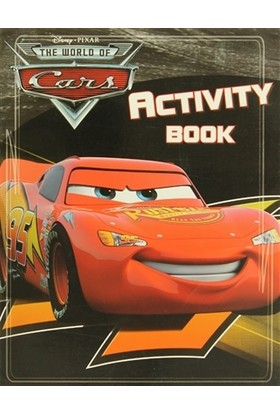 Disney Pixar The World Of Cars - Activity Book
