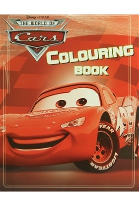 Disney Pixar The World Of Cars - Colouring Book