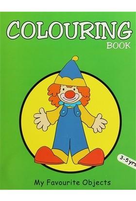 Colouring Book (Green)