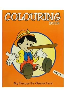 Colouring Book (Orange)