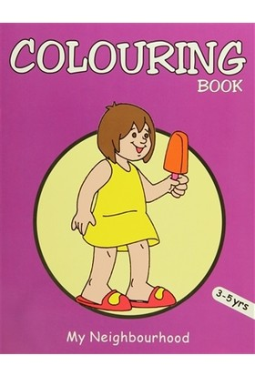 Colouring Book (Purple)