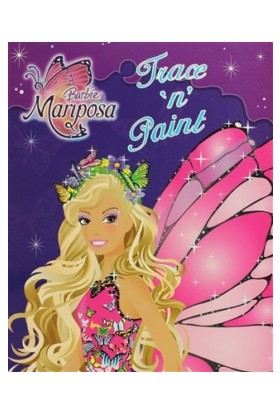 Barbie Mariposa: Trace 'n' Paint