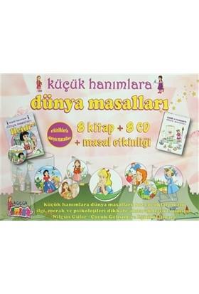 Küçük Hanımlara Dünya Masalları ( 8 Kitap, 8 CD, Masal Etkinliği)