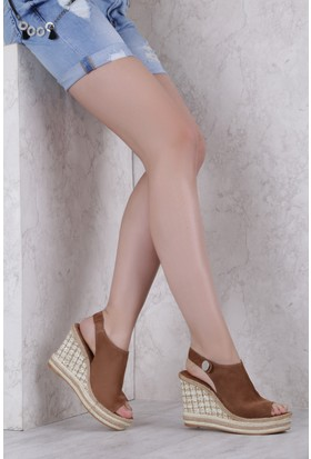 İlvi Soho 9686 Sandalet Taba