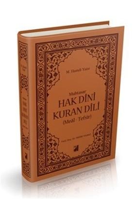 Muhtasar Hak Dini Kuran Dili (Meal-Tefsir)