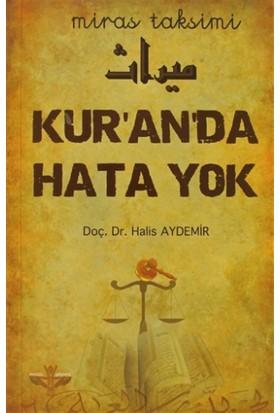 Kur'an'da Hata Yok
