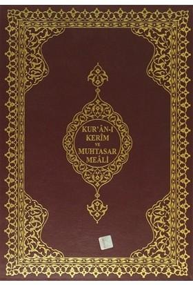 Kur'an-ı Kerim ve Muhtasar Meali (Cami Boy - Renkli - Sade - Kod: 302)