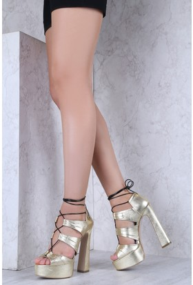 İlvi Lepidus 3770 Sandalet Altın