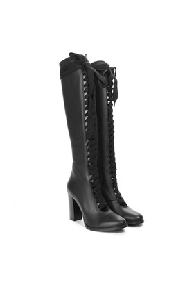İlvi Cintia 3335 Çizme Siyah Deri