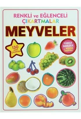 Renkli ve Eğlenceli Çıkartmalar - Meyveler (Fruits)