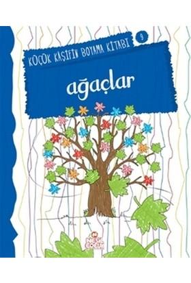 Ağaçlar - Küçük Kaşifin Boyama Kitabı Serisi 9 - Nilüfer Taktak