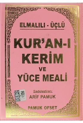 Elmalılı - Üçlü Kur'an-ı Kerim ve Yüce Meali (Çanta Boy - Kılıflı - Üçlü-011) - Elmalılı Muhammed Hamdi Yazır