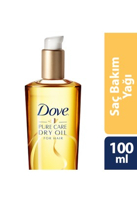 Dove Advanced Haır Serıes Saç Bakım Yağı Pure Care Dry Oıl 100 ml