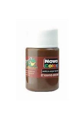 Nova Akrilik Boya Kahve Şişe Nc-175