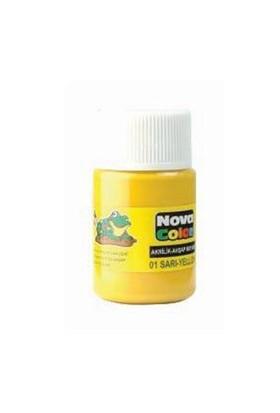 Nova Akrilik Boya Sarı Şişe Nc-169