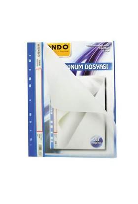 Mondo 5240 Klasör İçi 20 Li Sunum Dosyası
