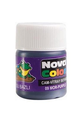 Nova Cam Boyası Mor Su Bazlı Nc-157