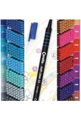 Caretta Softlıner 55-03 Koyu Mavi Kalem 0.4Mm