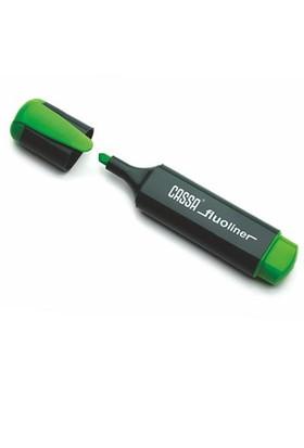 Cassa 8720 Yeşil Fosforlu Kalem