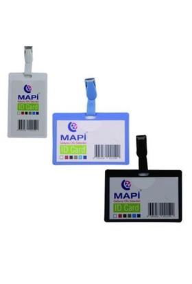 Mapi Klipsli Kart Poşeti Yatay Krem 9100804