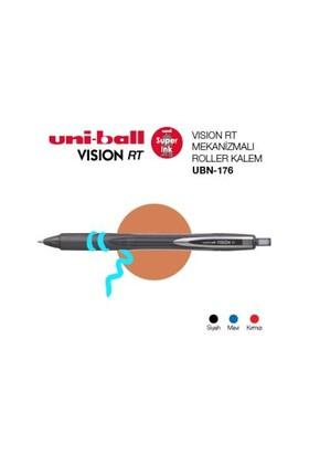 Uni-Ball Ubn-176 Siyah Basmalı Vısıon 0.6 Kalem