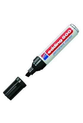 Edding 500 Siyah Kesik Uç Marker Kalem