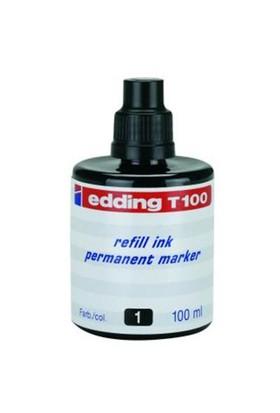 Edding T100 Siyah Permanent Mürekkep 100Ml