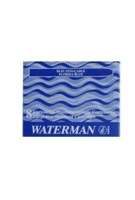 Waterman Mavi 8 Li Uzun Kartuş s0110860