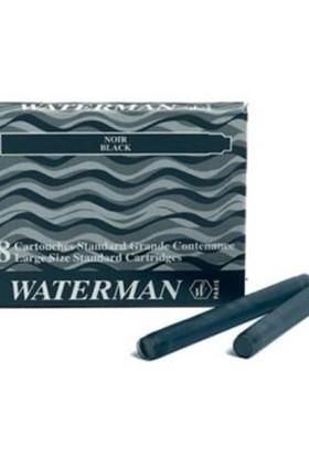 Waterman Siyah 8 Li Kısa Kartuş Ws0110850