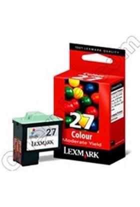 Lexmark 10Nx227 Renkli Kartuş 27