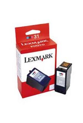 Lexmark 18C0031E Siyah Photo Kartuş 31 Z-1420