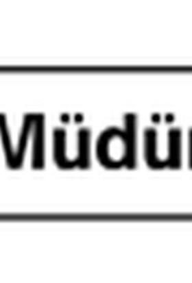 Kolay İşaretler Müdür B1-202 7,5X25 Cm
