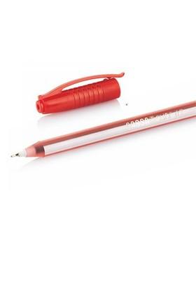 Cassa 8740 Slıde İğne Uç Kırmızı Tükenmez Kalem, 50'li Kutu