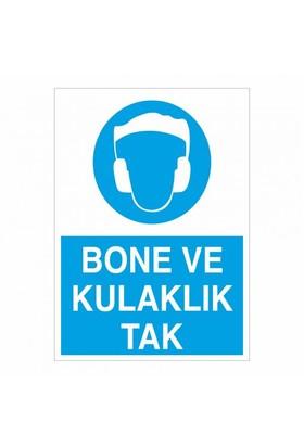 """Modülerteknik """"Bone Ve Kulaklık Tak"""" 25X35cm"""