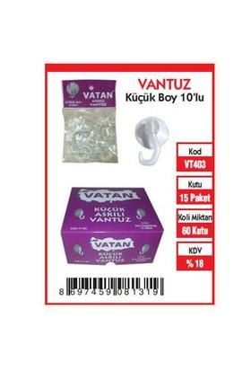 Vatan Vantuz Küçük 10 Lu Vt403