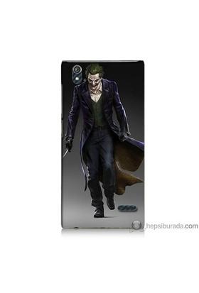 Bordo Turkcell T50 Kapak Kılıf Joker Klasik Baskılı Silikon