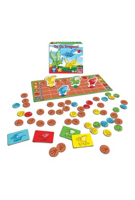 Orchard Puzzle 056 Go Go Dragons 4 Yaş