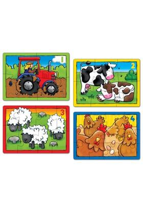 Orchard Çiftlik (3+Yaş / 4 Puzzle Birarada)