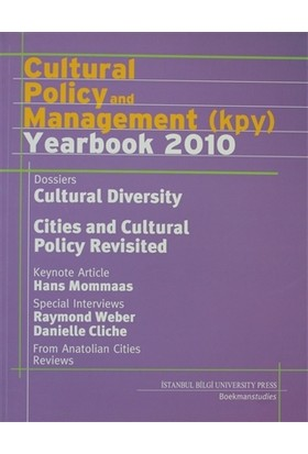 Cultural Policy and Management (KPY) Yearbook 2010